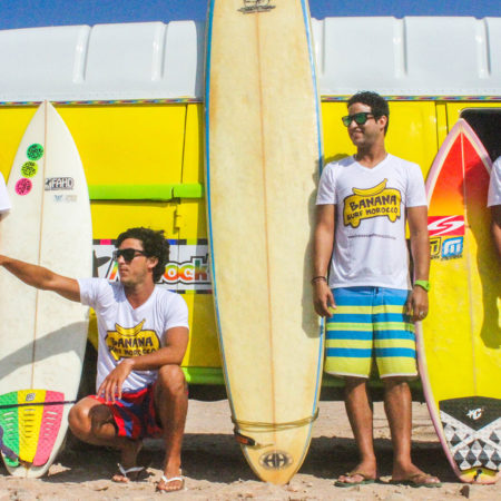 banana surf camp