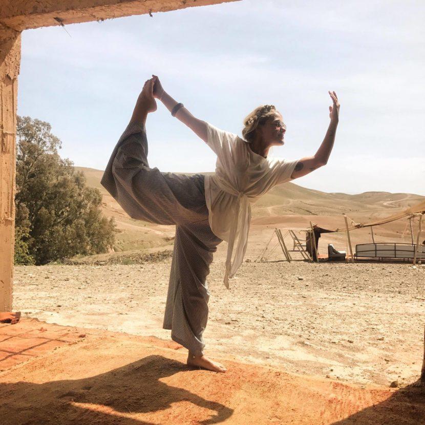 Yoga surf morocco - Banana Surf Camp Morocco