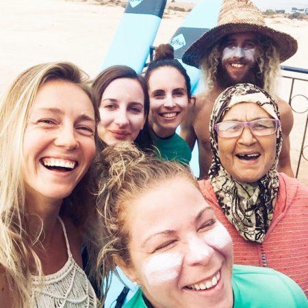 Koch von Banana Surf Marokko Mama Aicha