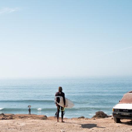 Banana surf experience Morocco