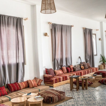 bed breakfast surf yoga guesthouse bluemindmorocco